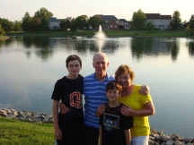 Grandsons with Grampa and Gramma