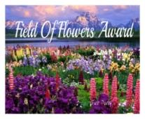 field-of-flowers-award