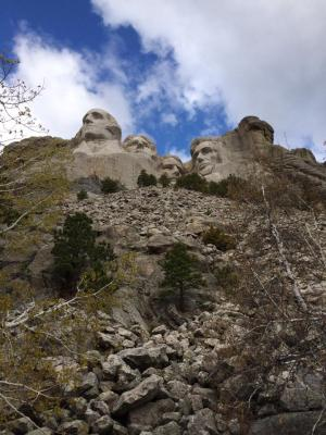 Mt. Rushmore National Memorial 5-16-14 - a