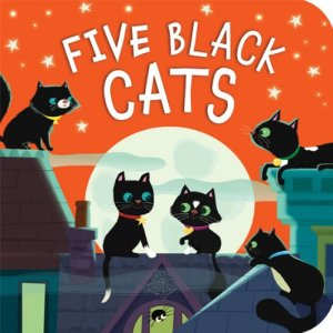 Five Black Cats