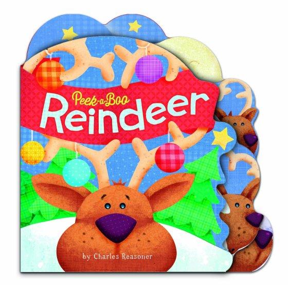 Peek-a-Boo Reindeer