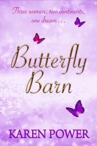 Butterfly Barn by Karen Power - Front Book Cover - (2014)