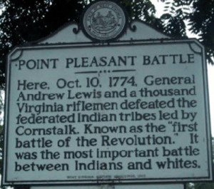 JP3 - Point Pleasant Battle Sign