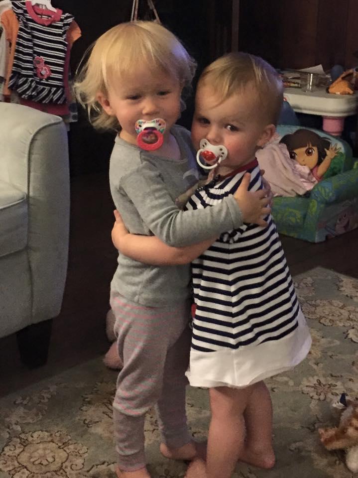 Brynn and Josie - besties 5-19-15
