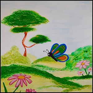 Butterfly Image Scene