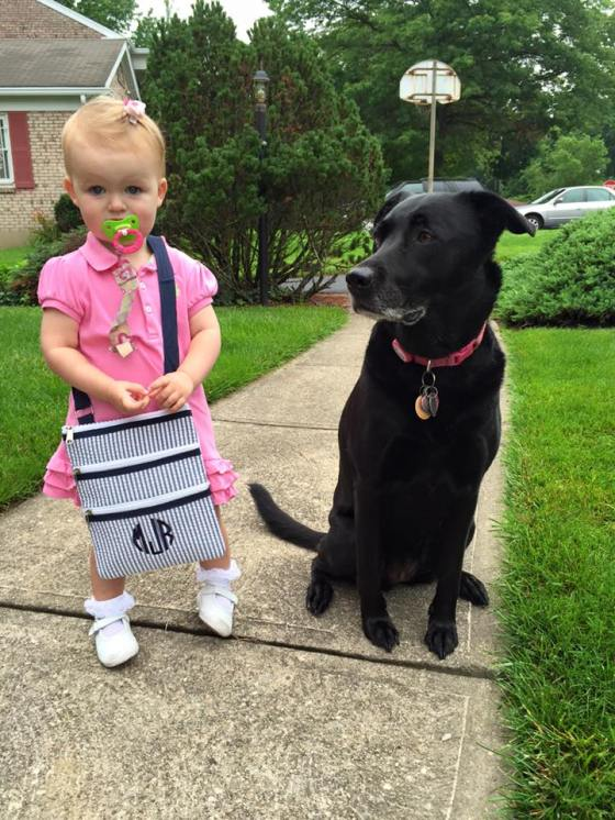 Josie and her dog 7-13-15