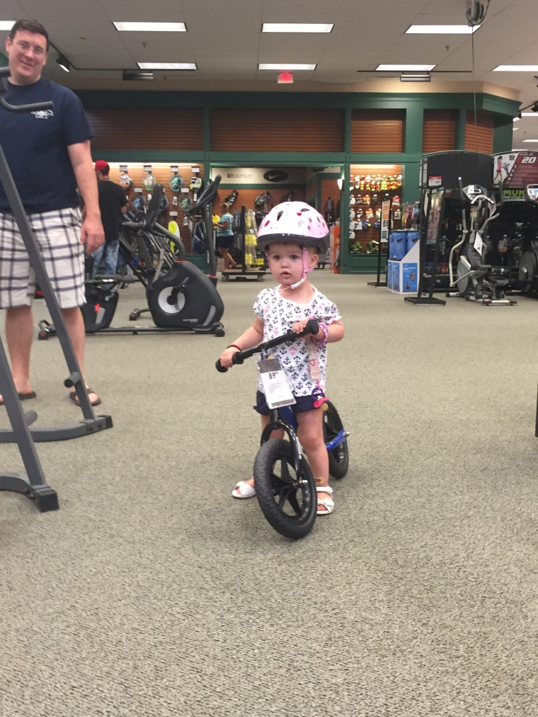 Josie is shopping for a bike 8-9-15