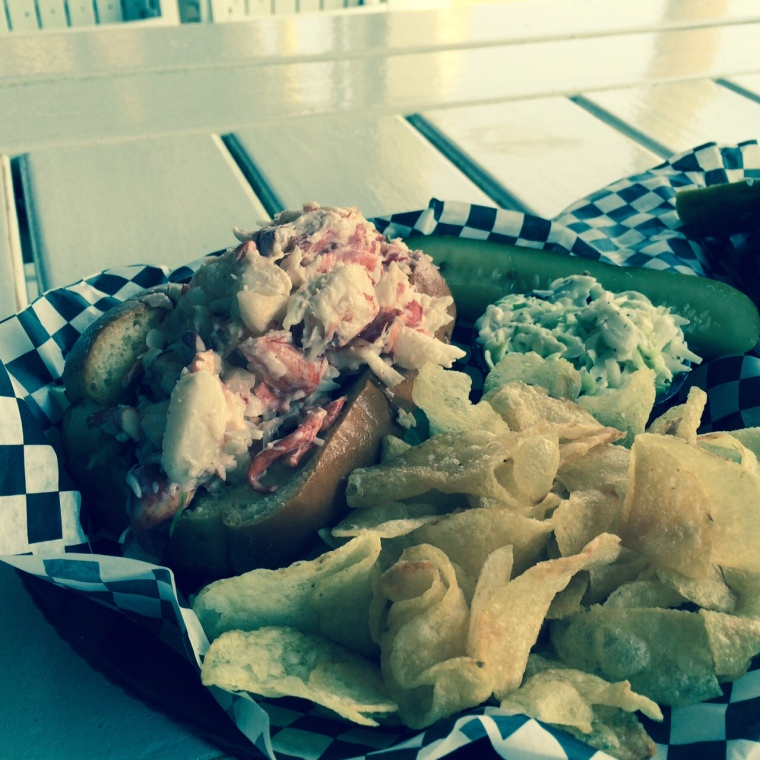 Lobster Roll in Bar Harbor, MA