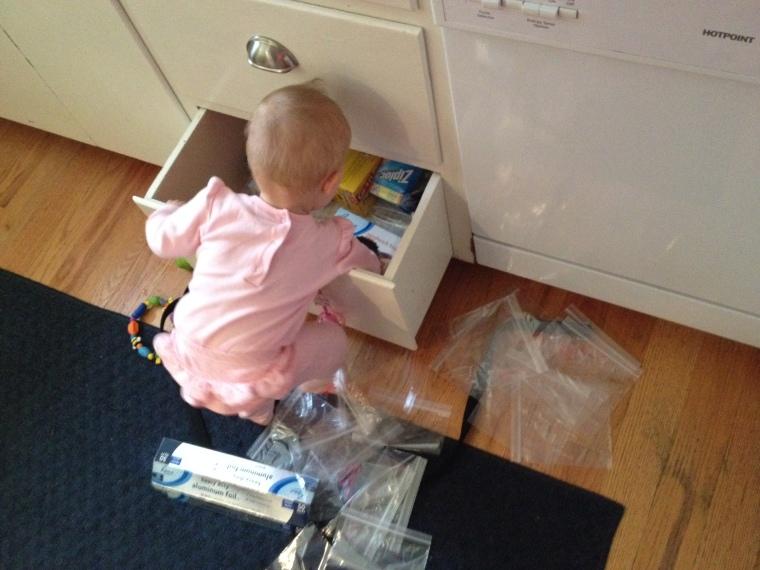 Mommy's little helper 10-14-14