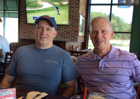 Todd and Dad 9-6-15