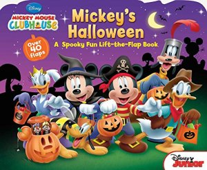 Mickey's Halloween - A Lift-the-Flap Book