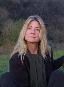 Claire Fullerton in front yard with dogs Dec 28 2011