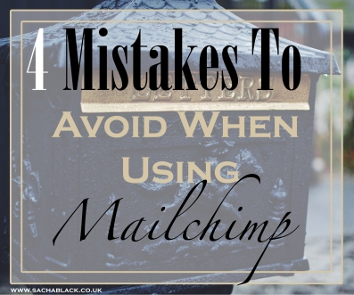 Mailchimp mistakes